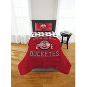 """NCAA Ohio State Buckeyes """"Affiliation"""" Twin or Full Comforter, 1 Each"""