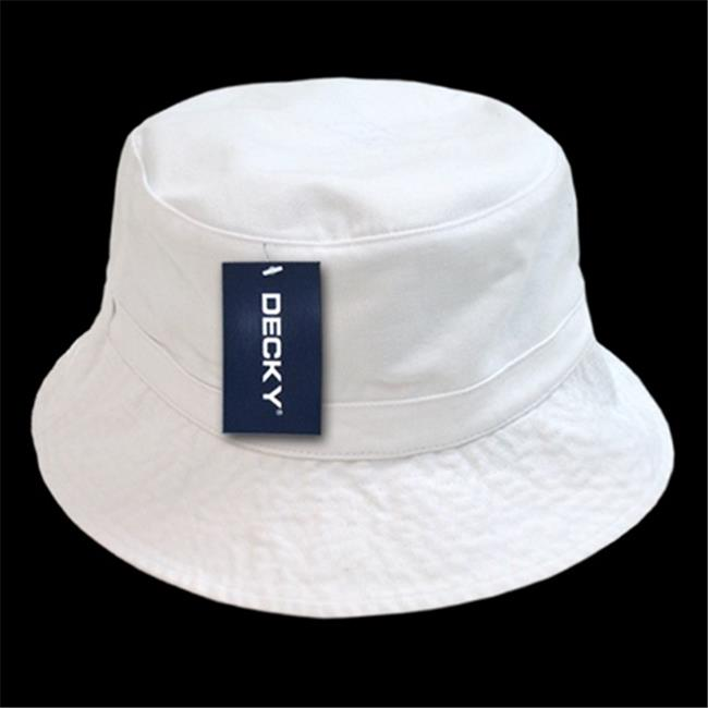 Decky 961-PL-WHT-07 Polo Bucket Hat 23a0ef44c21