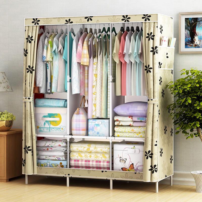 Actionclub Non-woven Multifunction Wardrobe Closet