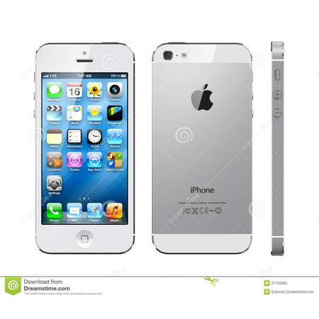 refurbished apple iphone 5 smartphone 16gb white for. Black Bedroom Furniture Sets. Home Design Ideas