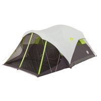 Coleman Steel Creek Fast Pitch 6-Person Dome Tent with Screen Room