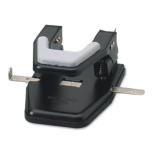 Master�2 Hole Black 9 32 Inch Paper Punch (MP250) by