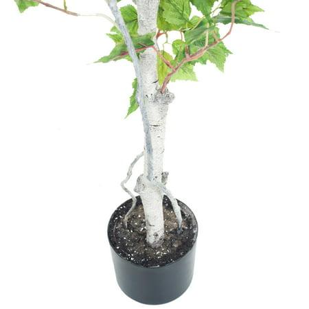 Pure Garden 5' Birch Artificial Tree