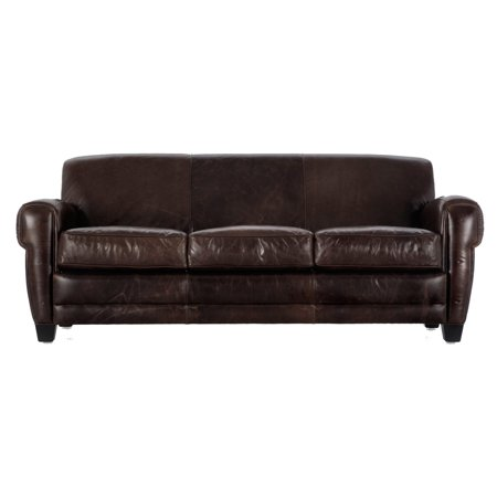 Pleasing Moroni Havana Leather Sofa Machost Co Dining Chair Design Ideas Machostcouk