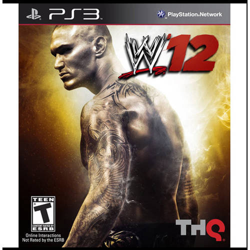WWE '12  (PS3) - Pre-Owned