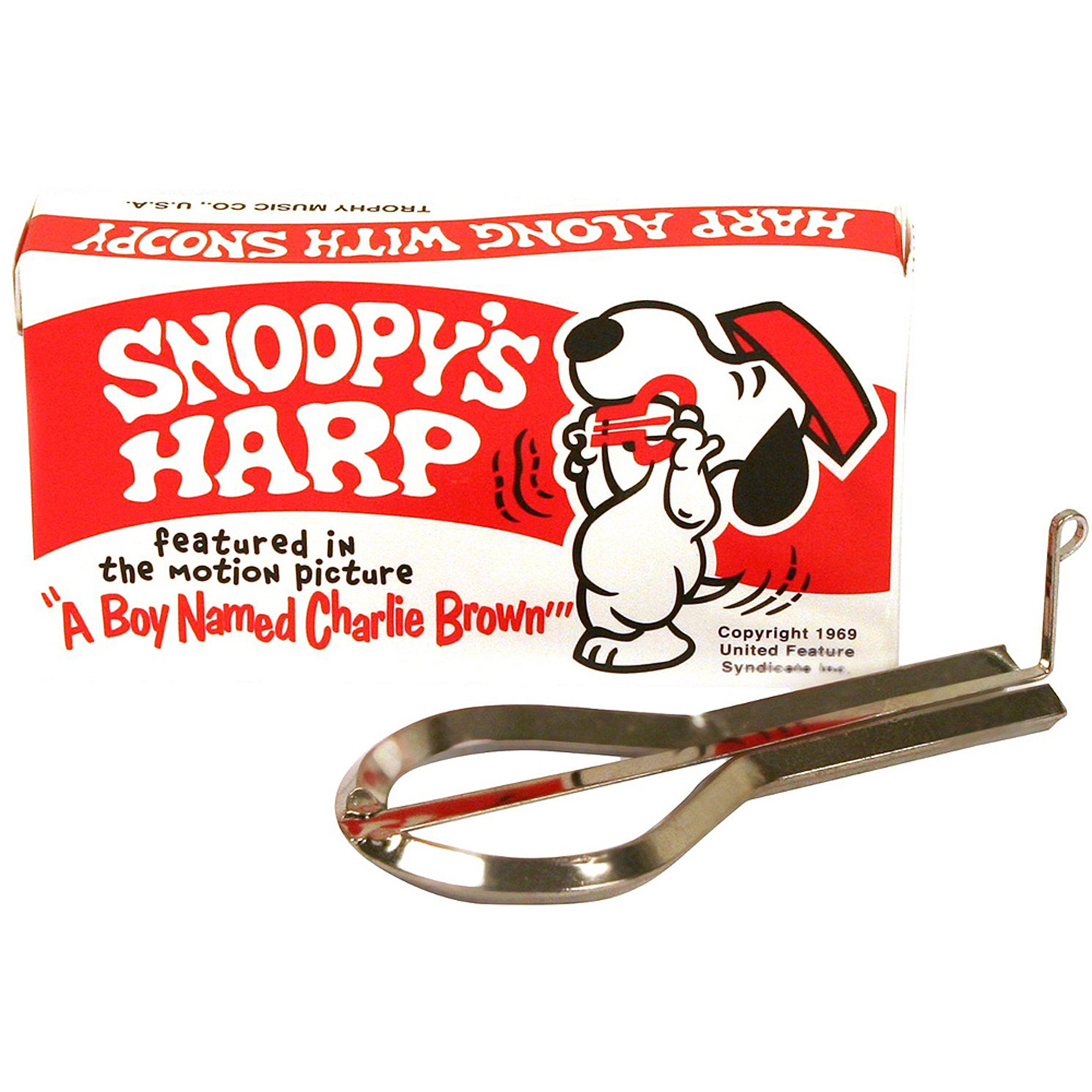 Grover Snoopy Jaw Harp, No. 3490