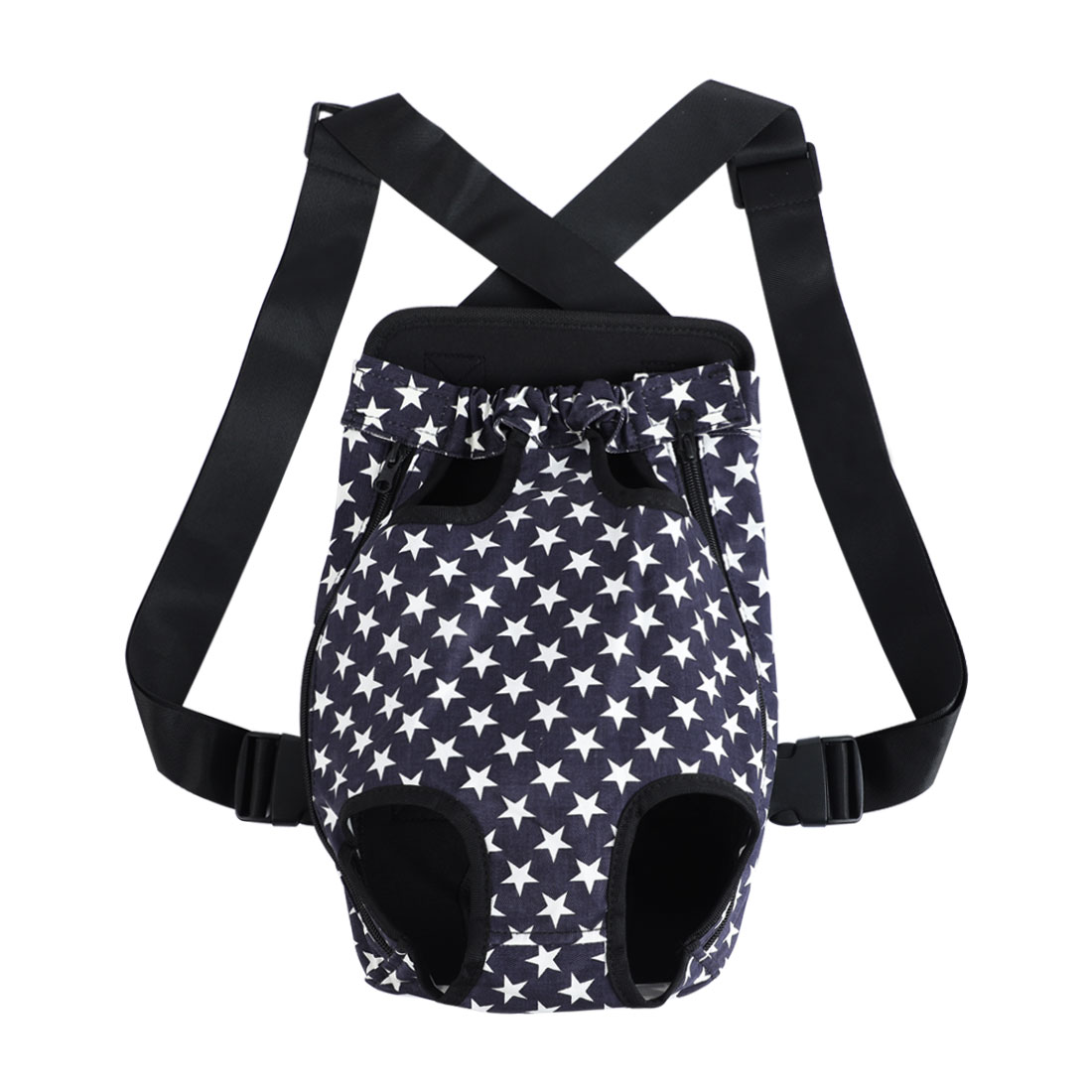 Pet Dog Carrier Star Type Front Chest Backpack Holder Outdoor for Camping