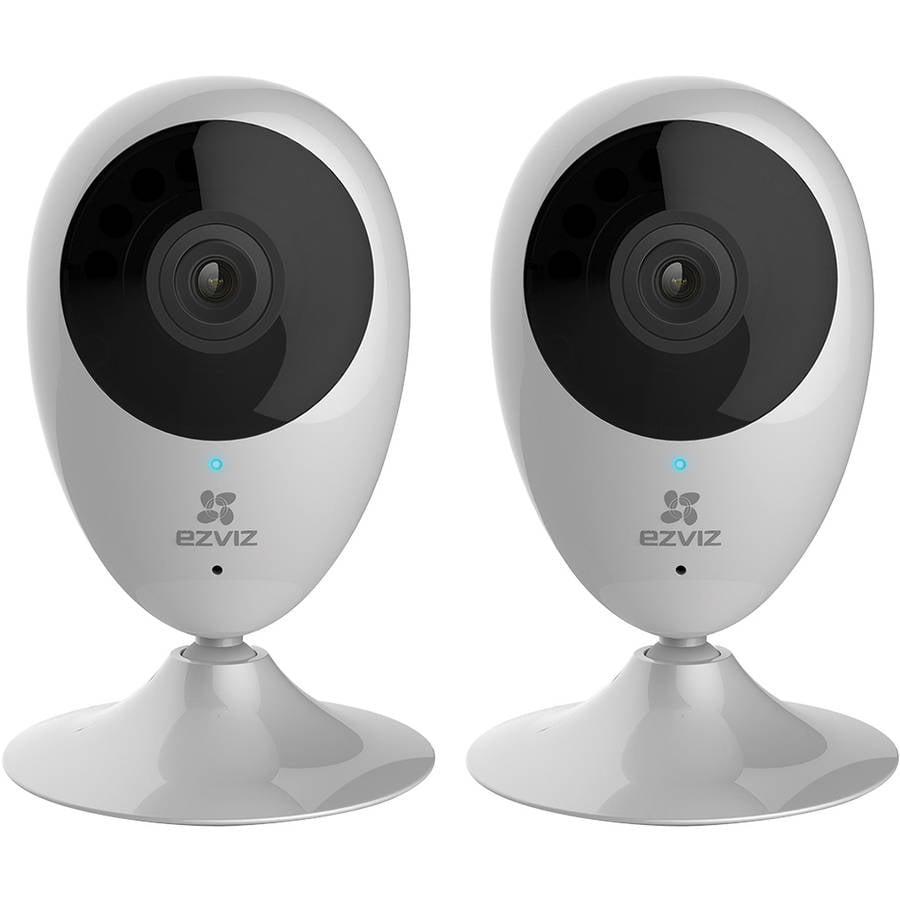 EZVIZ EZMINO Mini O 720p WiFi Indoor Camera, 2-Pack