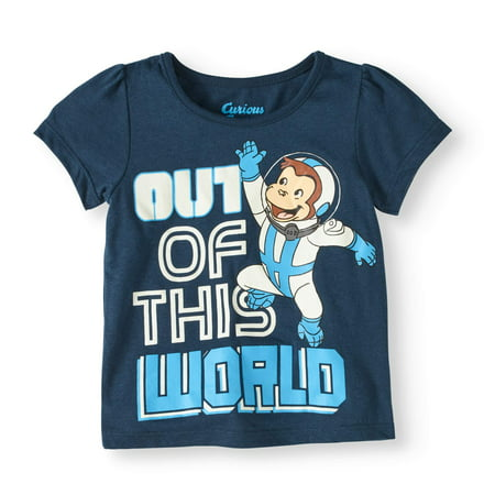 Toddler Girl Out of this World Short Sleeve Tee