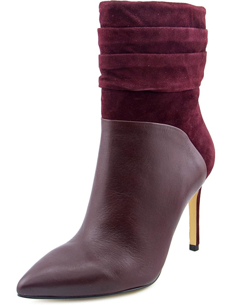 Vvidlet Pointed Toe Leather Ankle Boot