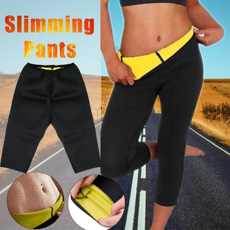 Women Hot Sweat Slimming Fitness Workout Sports Pants Neoprene Sauna Thermo Body Shaper Trainer Gym