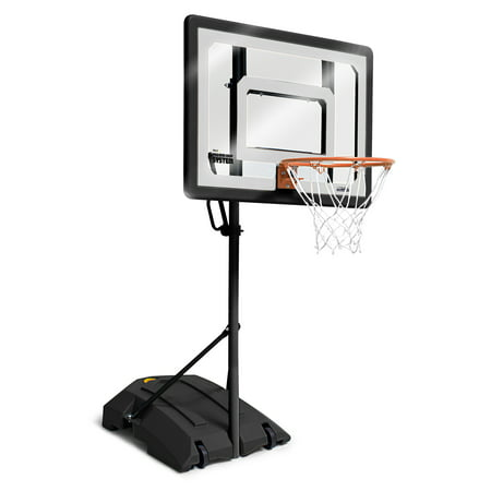 SKLZ Pro Mini Basketball Hoop System with Adjustable Height 3.5 - 7 feet and includes 7 inch Mini Ball