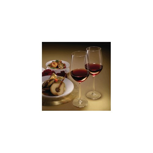 Lucaris Shanghai Soul Bordeaux Glass (Set of 4) by Lucaris