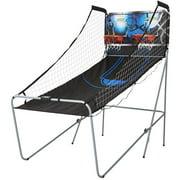 MD Sports 2-Player Arcade Basketball Game, Best Shot, LED Scoring System, Black/Blue