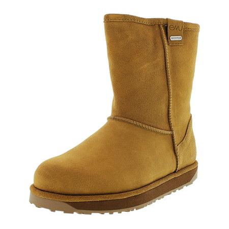 Emu Women's Paterson Lo Waterproof Chestnut Ankle-High Sheepskin Boot - 6M