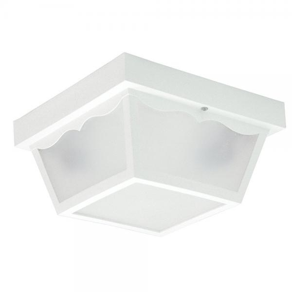 Thomas Lighting SL7598 Outdoor Essentials Outdoor Ceiling Light, Matte White by