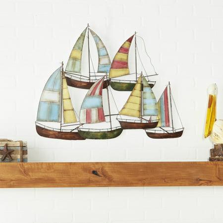 Metal Sailing Boat Decor A Perfect Nautical Decor ()