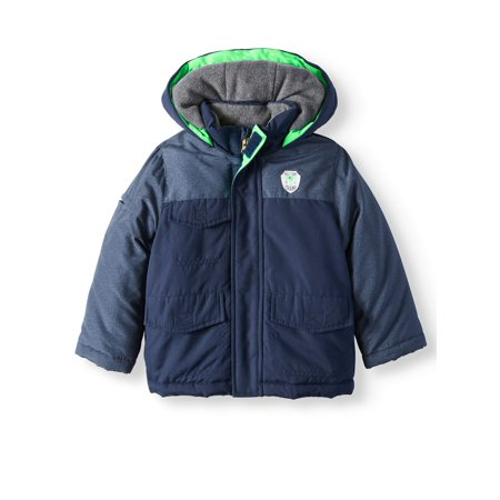 Colorblock Parka Coat (Baby Boys, Toddler Boys)
