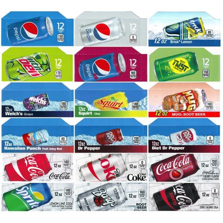 Pepsi Soda Machines (Vending-World - 18x Flavor Strip For 12 oz Cans Soda Pepsi Coke Vending, fits Dixie Narco,)