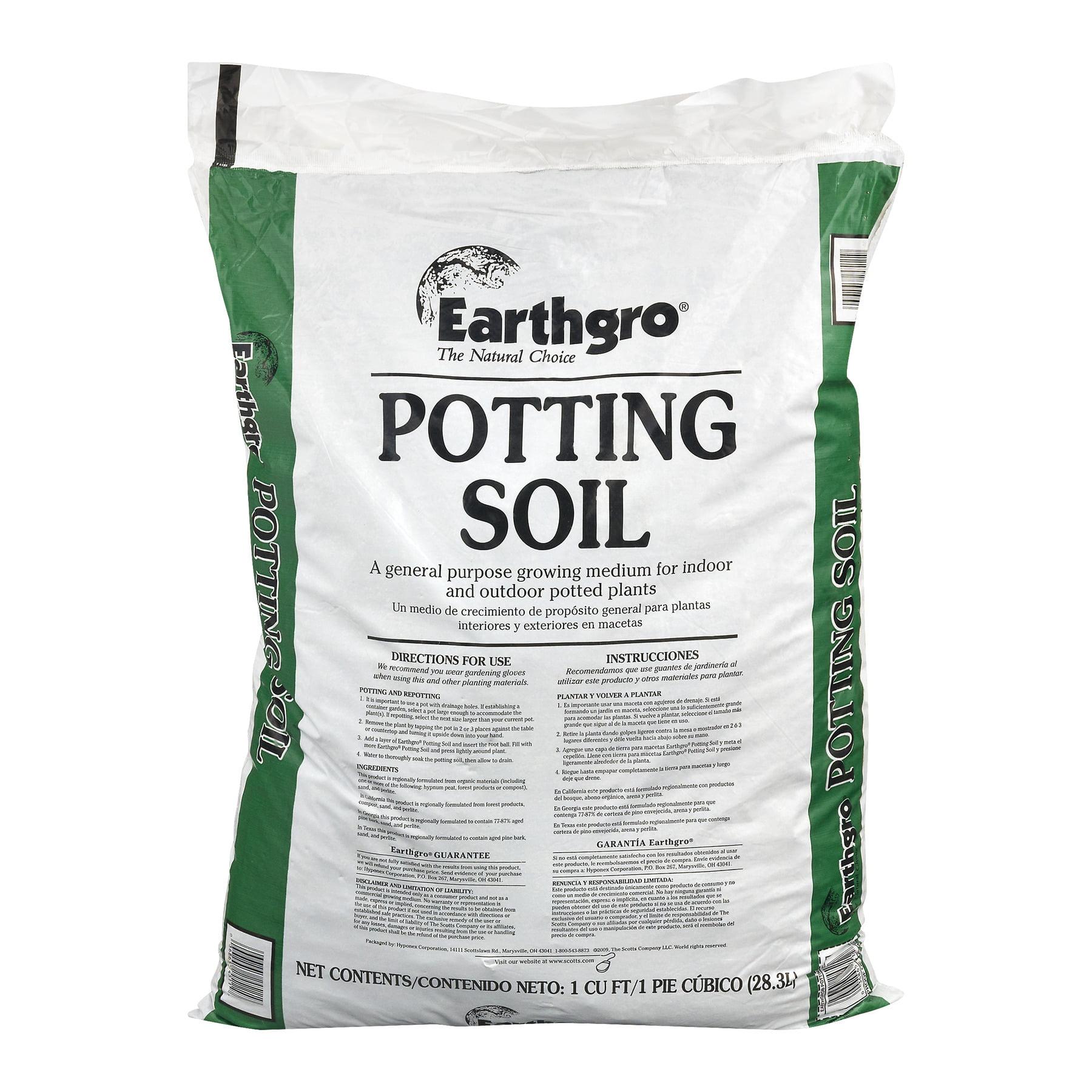 Earthgro Potting Soil, 28.3 L