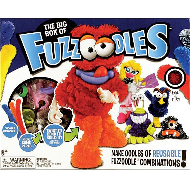 Giddy Up Fuzzoodles Big Box Assorted Activity Kit