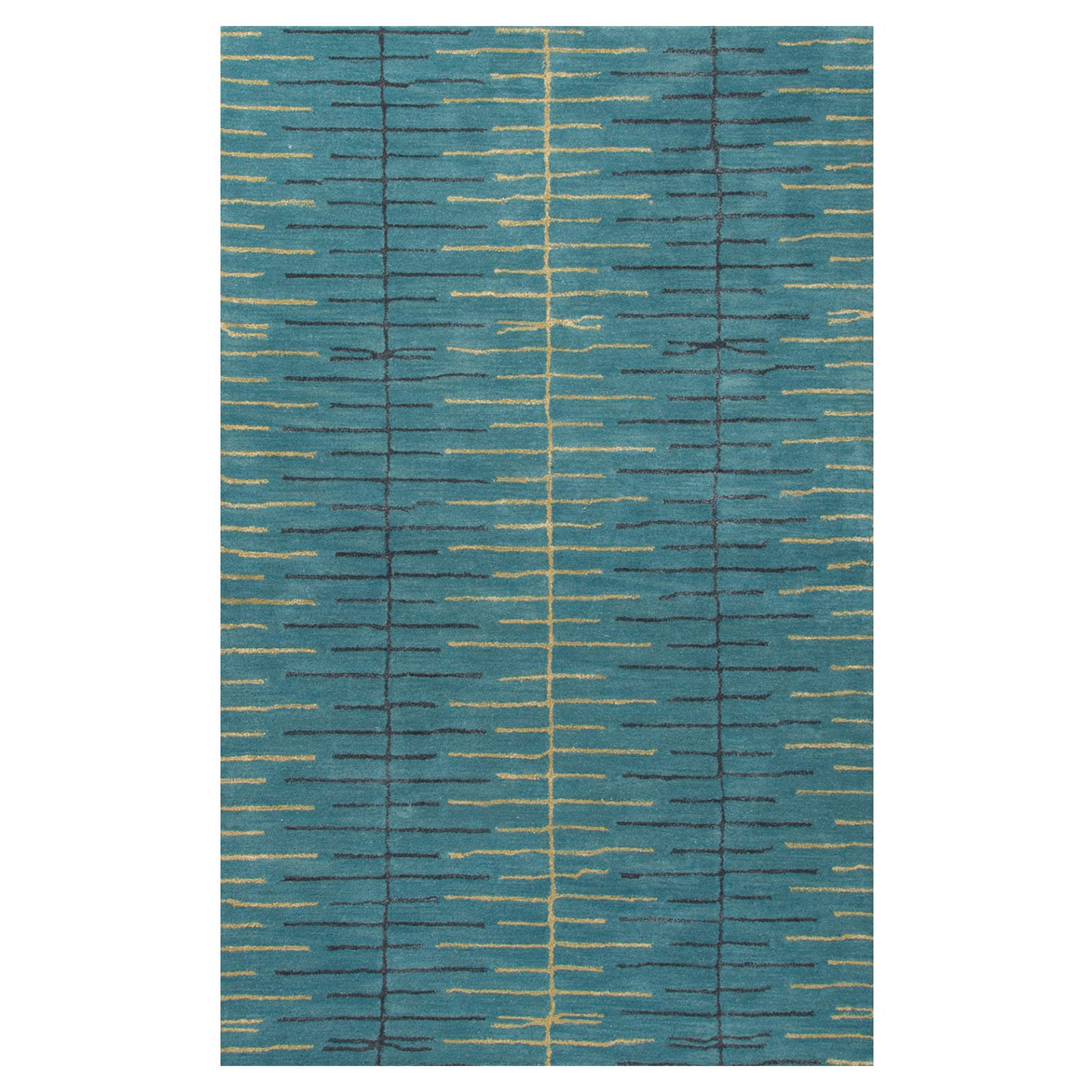 Jaipur Rugs Blue Collection Tribal Indoor Area Rug