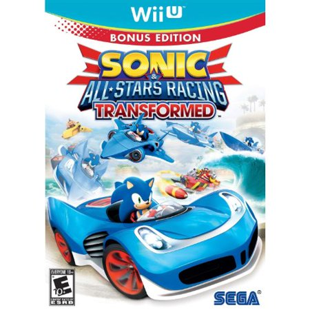 Sonic Allstars Racing Transformed, SEGA, Wii U, 010086671018 (Sonic Halloween Racing)
