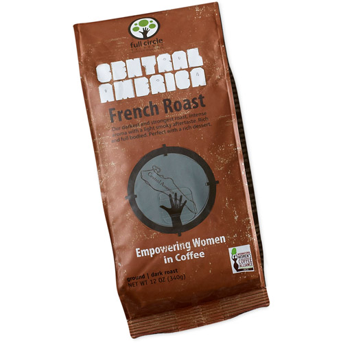 Full Circle Exchange Central America French Roast Ground Coffee, 12 oz