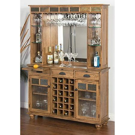 Sunny Designs Sedona Server and Back Bar