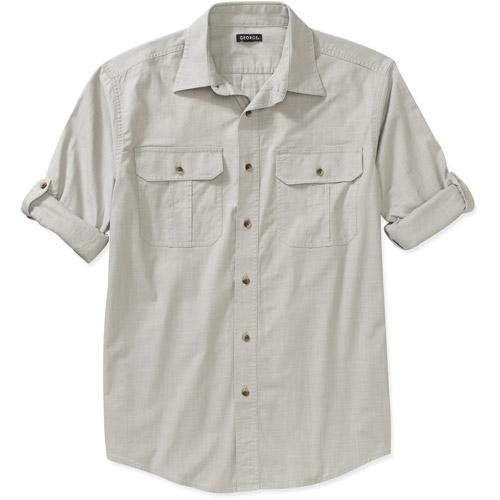 George Mens Ls Pigment Dye Shirt