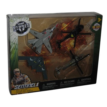 True Heroes Sentinel 1 Die Cast Sky Wings 4 Pack Helicopters Toy Set - (Toys R Us Exclusive) - Toys R Us Reno