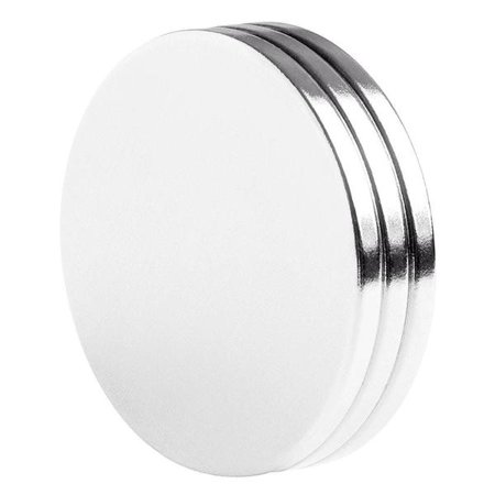 Large Magnets (totalElement 1.50 x 1/8 Inch Neodymium Rare Earth Large Disc Magnets N42 (3)