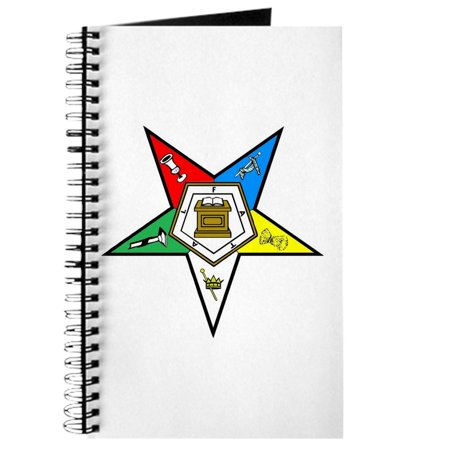 CafePress - Order Of The Eastern Star - Spiral Bound Journal Notebook, Personal Diary Dot Grid