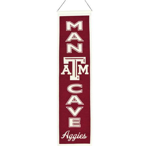 NCAA Man Cave Banner, Texas A & M University Aggies