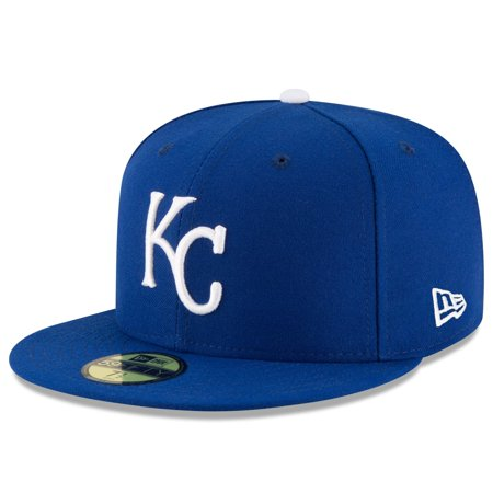 Kansas City Royals New Era Game Authentic Collection On-Field 59FIFTY Fitted Hat - Royal Authentic Fitted Hat Game