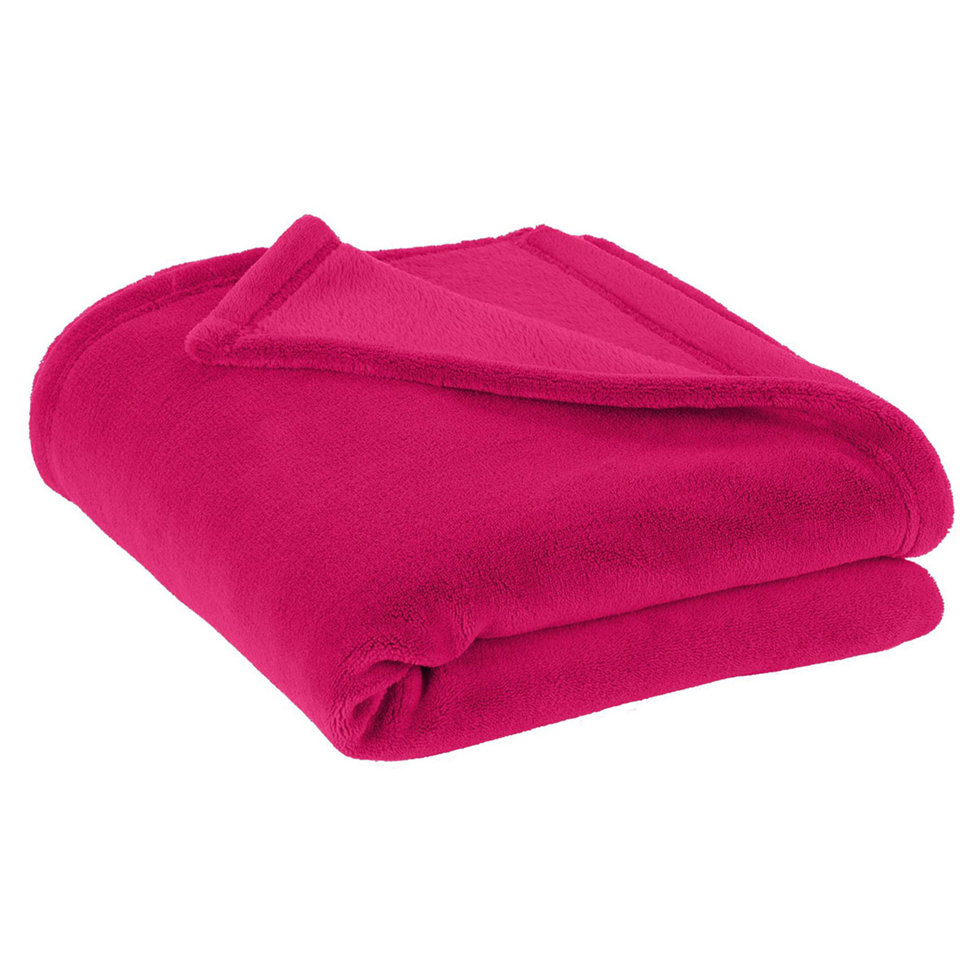 Port Authority Super Lightweight Soft Polyester Plush Blanket