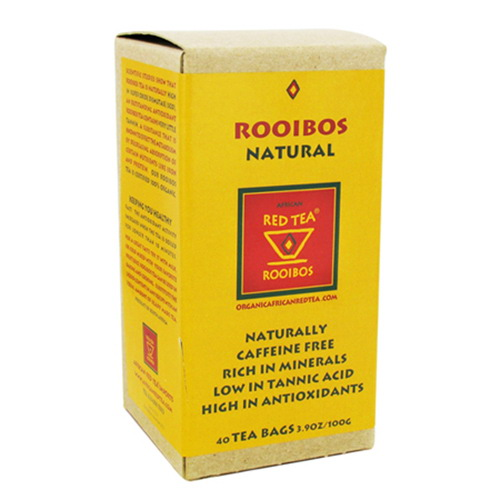 African Red Tea Imports Rooibos Natural Tea Bags - 40 Ea