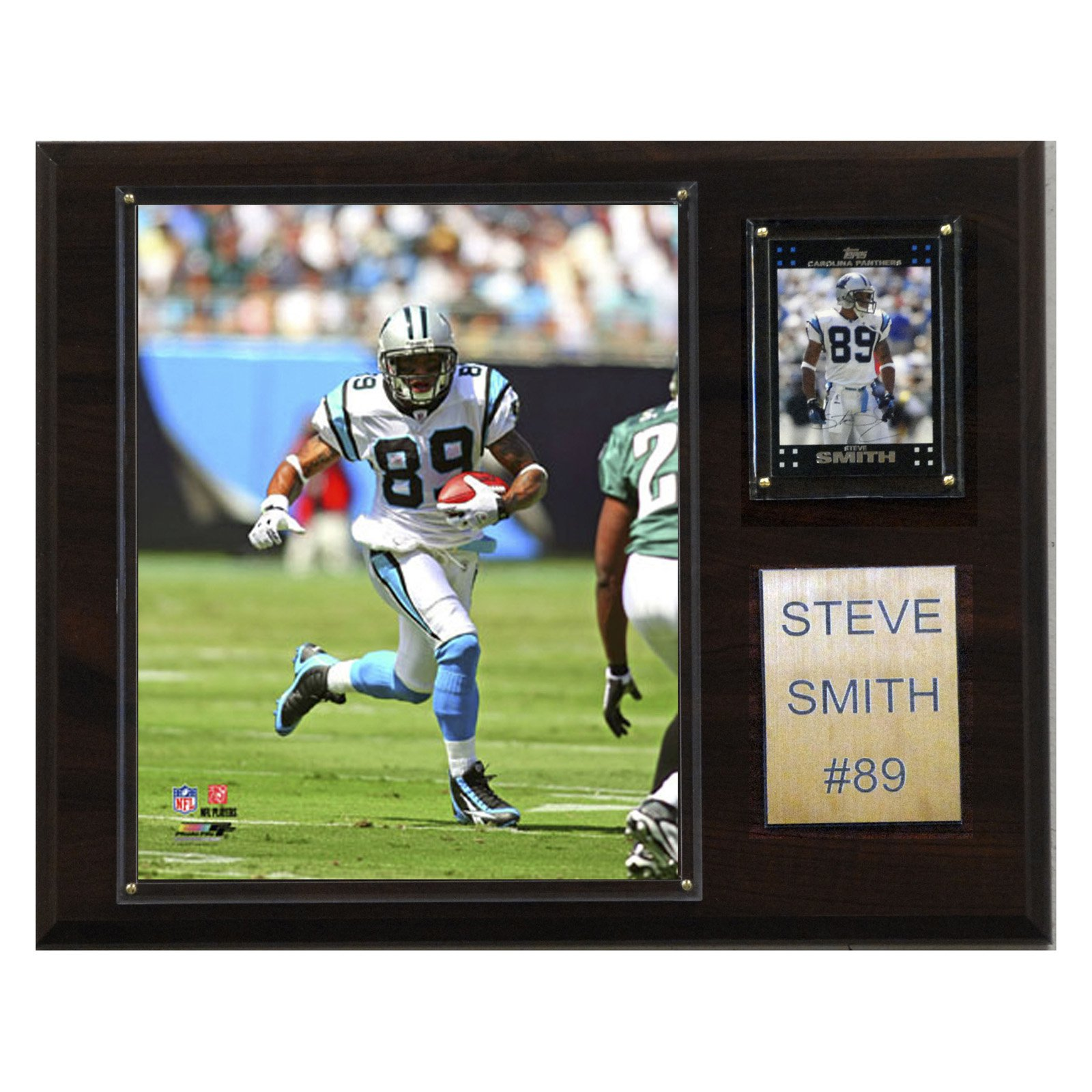 C&I Collectables NFL 12x15 Steve Smith Carolina Panthers Player Plaque