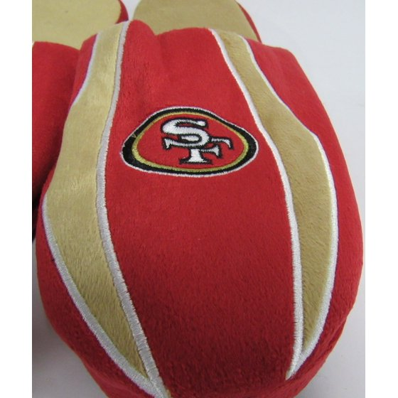 252825b41b2 Forever Collectibles - NFL Mens Slippers San Francisco 49ERS- X-Large (13-14)  - Walmart.com
