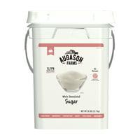 Augason Farms White Granulated Sugar 28 Pound Pail