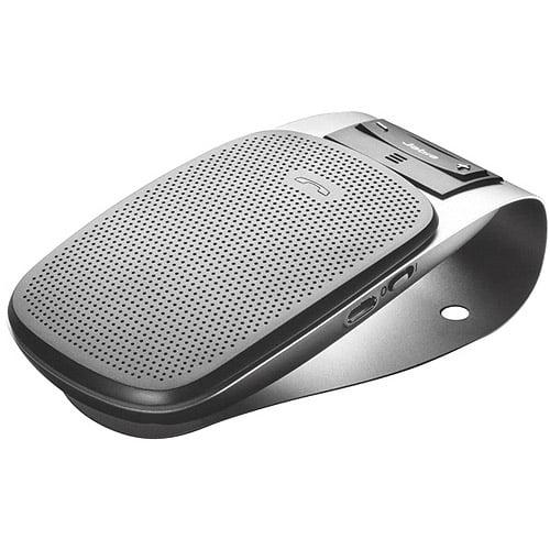Jabra Drive 100-49000000-02 Wireless Bluetooth CAR HANDS-FREE KIT - USB - 33 FT Range - Speakerphone, Noise Reduction, Voice Dial, Auto Pairing - BUILT-IN Speaker