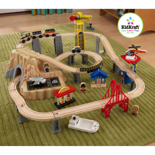 KidKraft 60-Piece Train Play Set