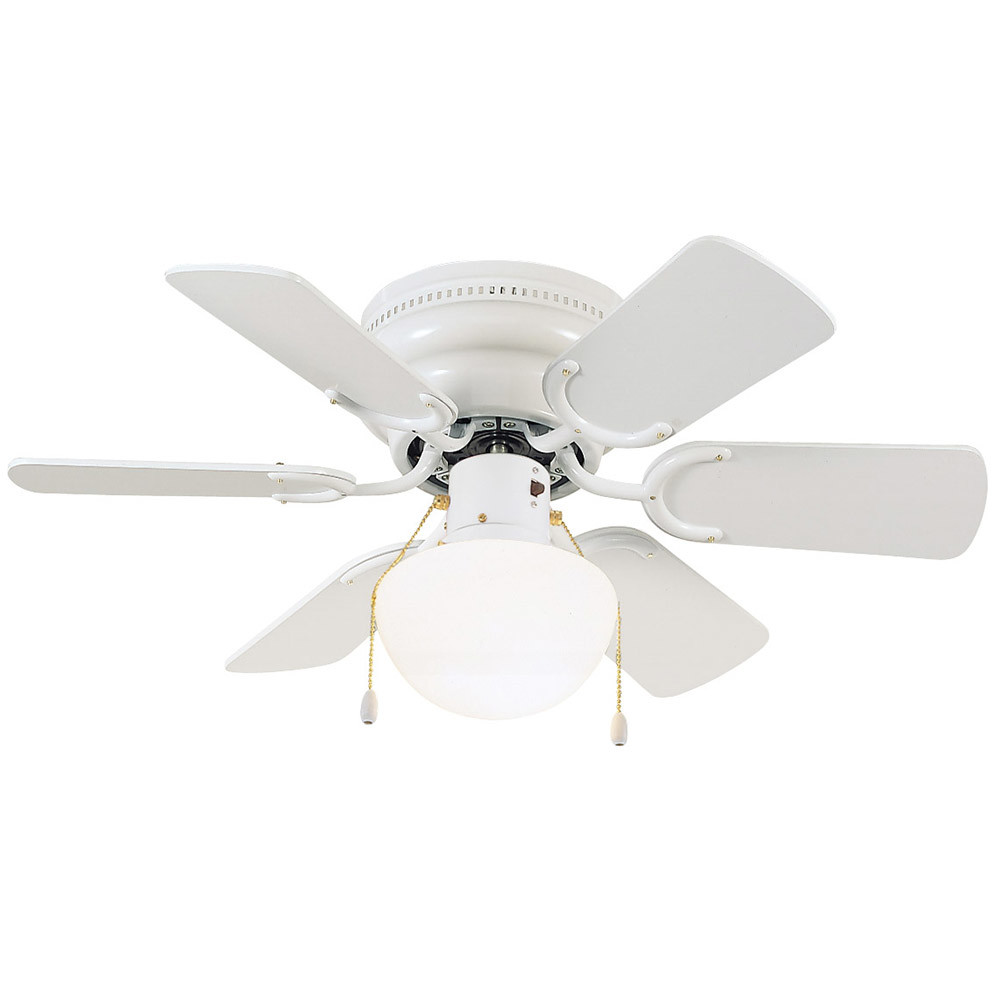 Design House 152991 Atrium Hugger Mount Ceiling Fan 30 White Light Pull Chain Switch Industrial Floor Wiring Diagrams 2016