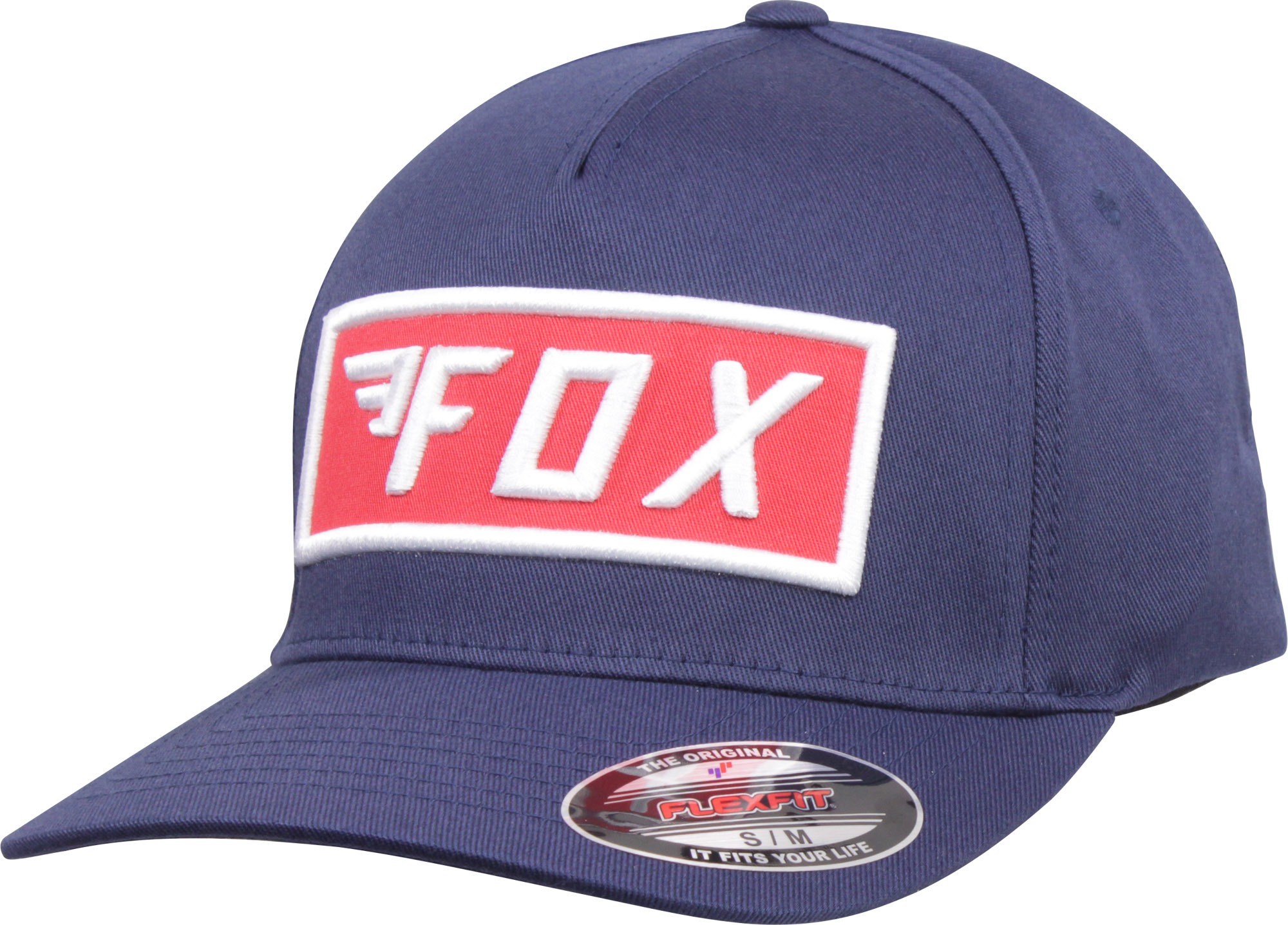 Mens Lid Cap Fox Racing HRC Redplate Pro Flexfit Hat
