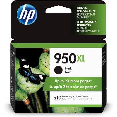 HP 950XL High Yield Black Original Ink Cartridge Black Printhead Cleaning Cartridge
