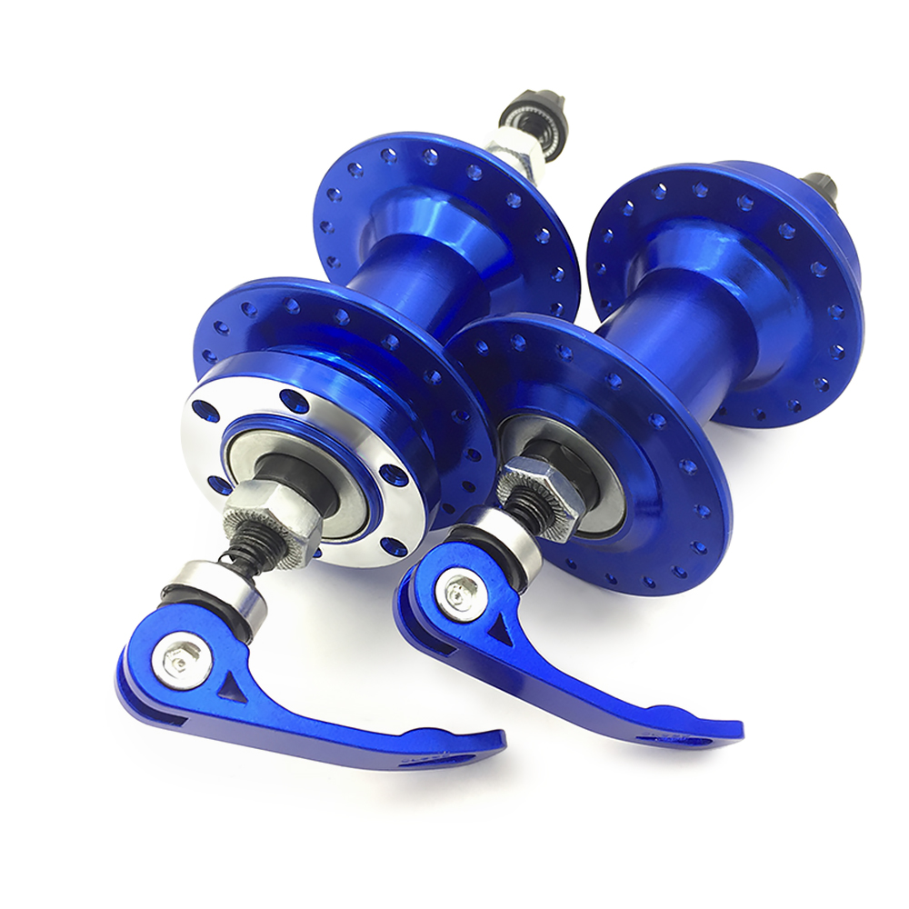 Bike Disc Brake 36H Front Rear Bike Hub MTB Wheel Bearing Hub With Quick Release