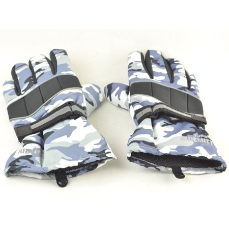 Strong Camel New Warm Mens W.P. Waterproof Work Gloves Ski Glove Motorcycle Waterproof Winter Camouflage XL
