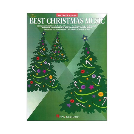 Best Christmas Music.Hal Leonard Best Christmas Music For Big Note Piano