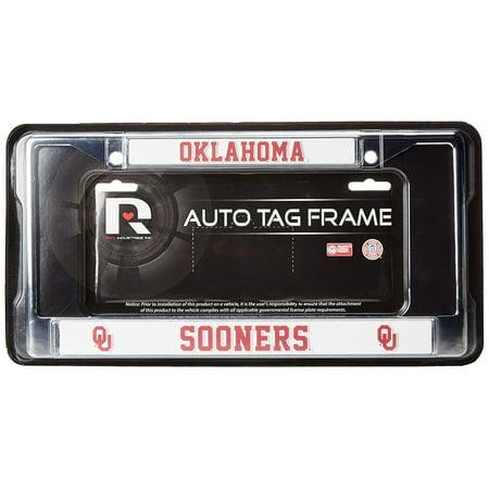 NCAA Oklahoma Sooners Chrome Plate Frame