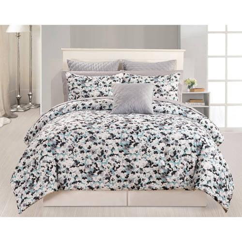 Ziya Kensie 10 Piece Quilted Comforter Set
